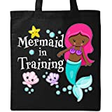 Inktastic - Mermaid in Training Tote Bag Black 2efd7