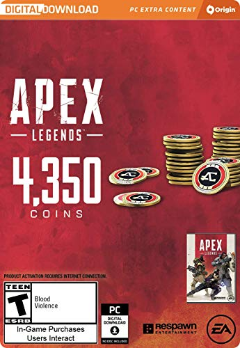 Legends Gift - Apex Legends - 4,350 Apex Coins [Online Game Code]