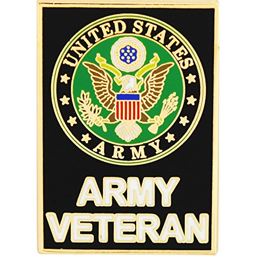 United States Army Veteran Large Pin (United Pin Army States Lapel)