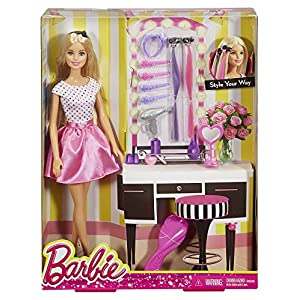 Barbie Doll with Hair Accessory
