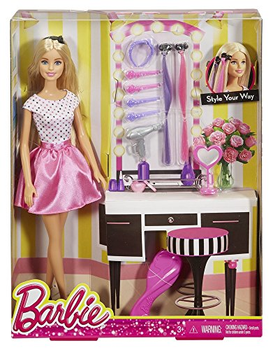 Barbie Djp92 Barbie Doll With Hair Accessory Shop Findsimilar Com