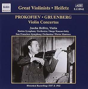 Violin Concertos: Great Violinists Heifetz