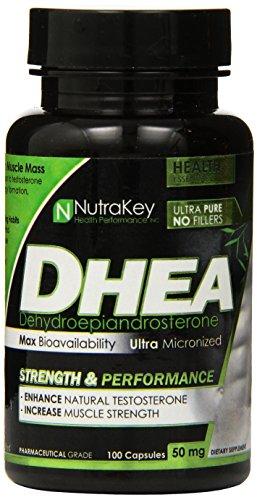 Cápsulas de NutraKey Dhea, 50 mg, 100 cuenta
