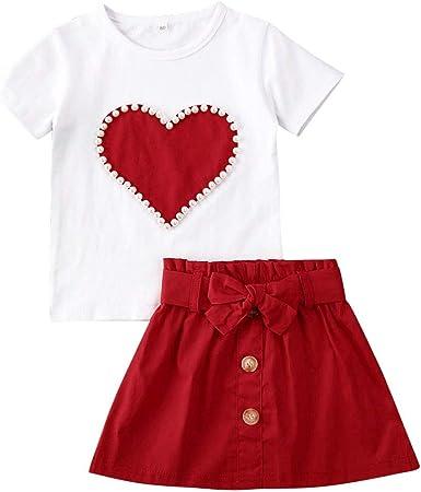 Hnyenmcko - Conjunto de camiseta de manga corta para niños y ...