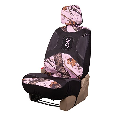 pink browning seat covers set - 1