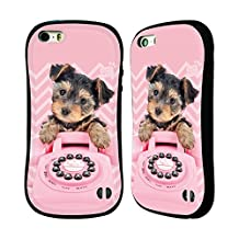 Official Studio Pets Mini Moshi Patterns Hybrid Case for Apple iPhone 5 / 5s / SE