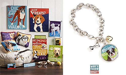 Giftcraft Who's Your Doggie Dog Bracelet