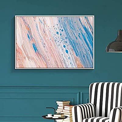 Unbelievable Artistry, Floating Framed for Living Room Bedroom Abstract Colorful Painting for, Made With Love