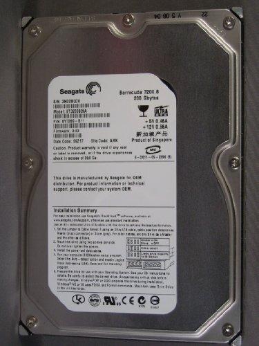 Refurbished- 200GB IDE  7200RPM ATA-100 - SEAGATE ST3200826A