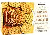 belgian waffles packaged - Trader Joe's Butter Waffle Cookies 8.8 oz (Pack of 2)