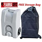 Fiamma Waste Water Carrier Roll 23L Grey Wheels Caravan Motorhome Boat + FREE Storage Bag