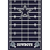 NFL Dallas Cowboys Plastic Table Cover (1ct)