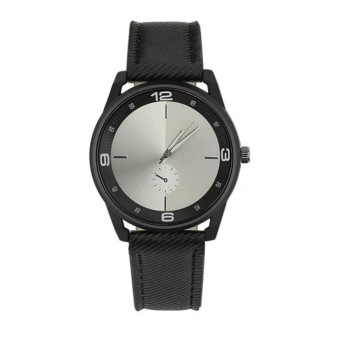 Rcool Relojes suizos relojes de lujo Relojes de pulsera Relojes para mujer Relojes para hombre Relojes deportivos,Reloj de diseño retro con banda de cuero, ...