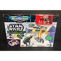 Ice Planet Hoth STAR WARS Micro Machines Space with Imperial AT-AT sealed