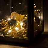 Battery Operated Fairy Lights with 10 Warm White LEDs by Lights4fun Bild 3