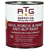 RTG Deck, Porch, & Patio Anti-Slip Paint (Quart, Clear/Amber)