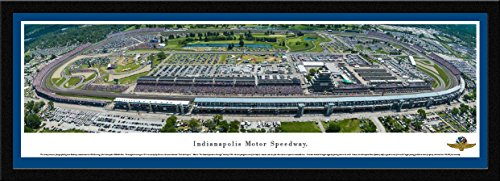 Indy 500   100Th 500 Mile Race     Blakeway Panoramas Speedway Posters With Select Frame