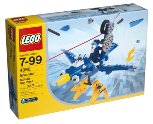 LEGO Inventor Set Motion Madness 4090