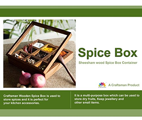 Fruit Basket Kitchen Box (Christmas Gift/ Christmas Sale Crafts'man Wooden Spice rack Container/spice Box/spice Rack with)