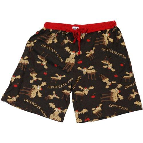 Chocolate Moose Women's Pajama Boxer BOTTOM by LazyOne | Soft Ladies Animal Sleepwear (MEDIUM)