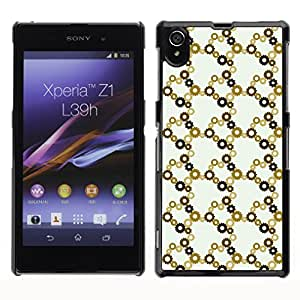 ZECASE Funda Carcasa Tapa Case Cover Para Sony Xperia Z1 L39H No.0003380