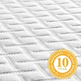 LINENSPA 5 Inch Gel Memory Foam Mattress - Firm
