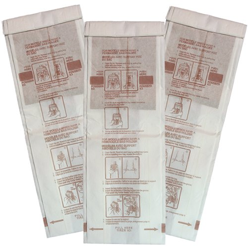 Panasonic type vacuum bags pack