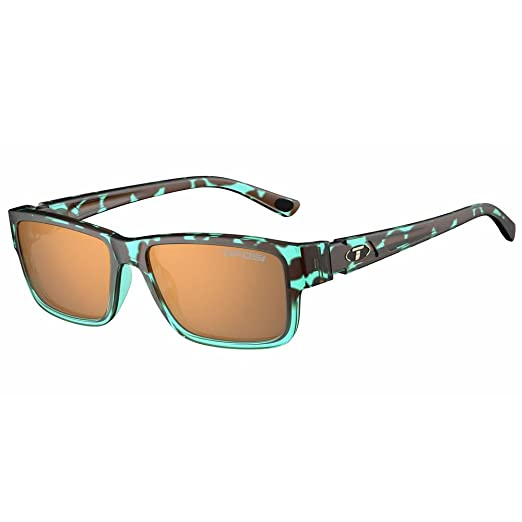 1788def5d102 Amazon.com  Tifosi Hagen 2.0 Blue Tortoise Sunglasses - Brown ...