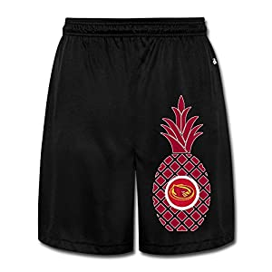 PKTWO Iowa State University Pineapple Men's Casual Shorts 3X