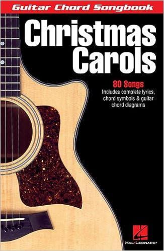 Amazon.com: Christmas Carols (Guitar Chord Songbook) (Guitar Chord ...