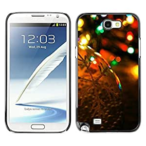 YOYO Slim PC / Aluminium Case Cover Armor Shell Portection //Christmas Holiday Bokeh Lights 1294 //Samsung Note 2 by icecream design