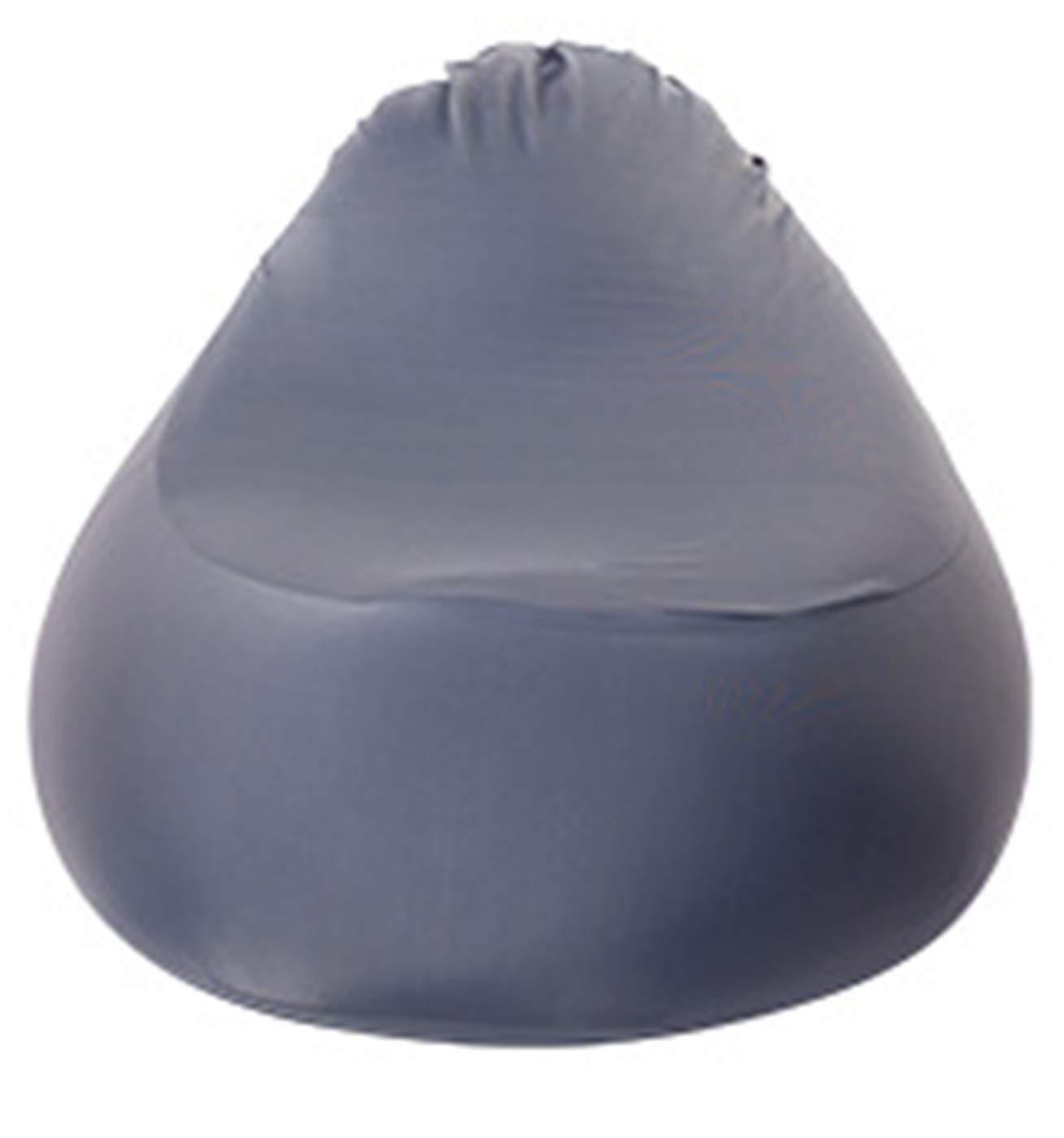 MZS Tec Bean Bag Chair, Stretch Cotton Single Tatami Chair Leisure Living Room Balcony Bedroom Bean Bag (Gray)