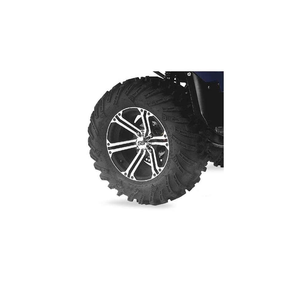 ITP Mud Lite XTR, SS212, Tire/Wheel Kit   27x9Rx14   Machined 43174