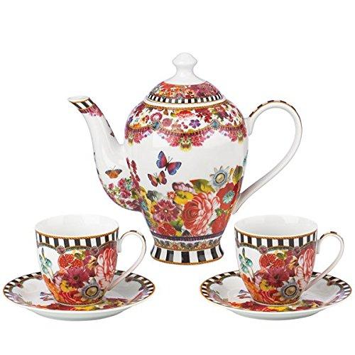 Lenox Melli Mello - Eliza Stripe 5 Piece Tea Set