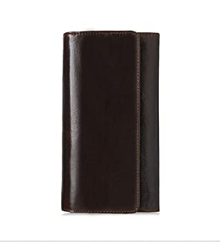 LINDANIG Bolso de Mano para Hombres Leisure First Layer Bolso de Embrague de Cuero Clutch Wallet Long Leather Wallet (Color : Coffee Color): Amazon.es: ...