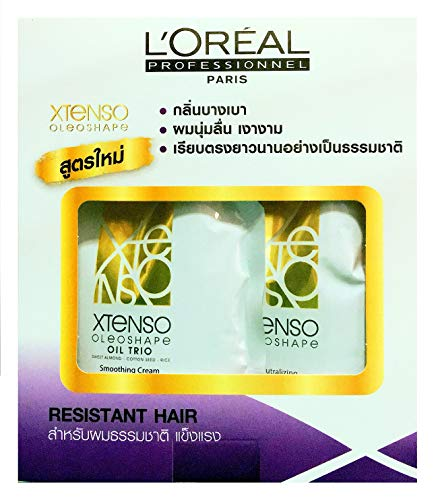 L'OREAL X-tenso Straightener Cream For Natural Resistant Hair (Best Permanent Hair Straightening)