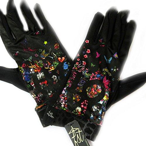 貨物大邸宅相反する[リリーの宝 (Les Tresors De Lily)] (Love Emotions コレクション) [L5376] 手袋 マルチカラー