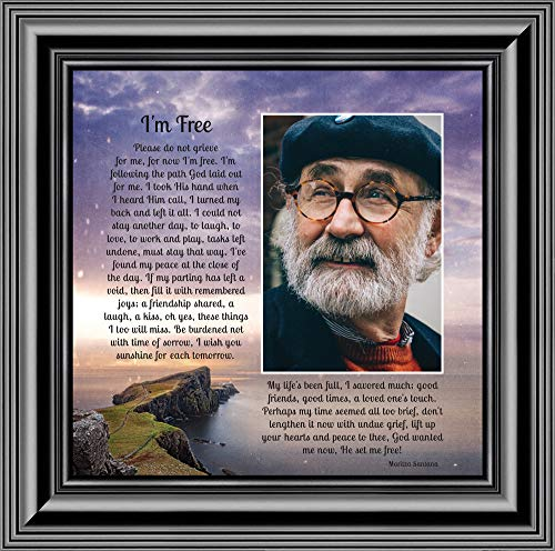 Personally Yours I'm Free, Love One's in Heaven, Memory Photo Frame, 10x10 6345B