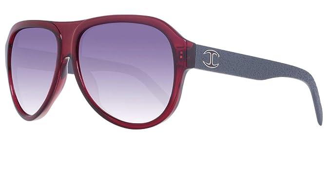 62a7f483647b Just Cavalli Unisex Adults  Sonnenbrille JC598S 66B Sunglasses, Red  (Burgundy), 61