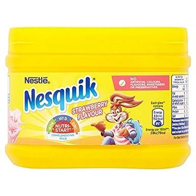 Nesquik Batido de fresa Mix 300g (paquete de 10 x 300 g)