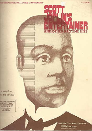 Hit Bouquet - Scott Joplin's Entertainer and other Ragtime hits for Solos/ duets for Flute & other C Insturments : Antoninette; Binks Waltz; The CAscades; Great Crush Collision; Marmony Club Waltz; Heliotrope Bouquet; Lily Queen; Maple Leaf Rag; Ragtime Dance