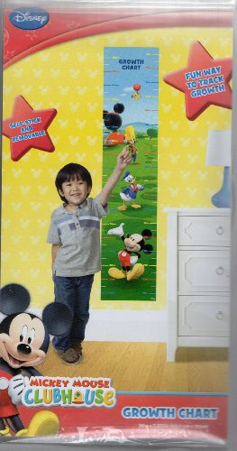 Mickey Clubhouse Disney Growth Removable