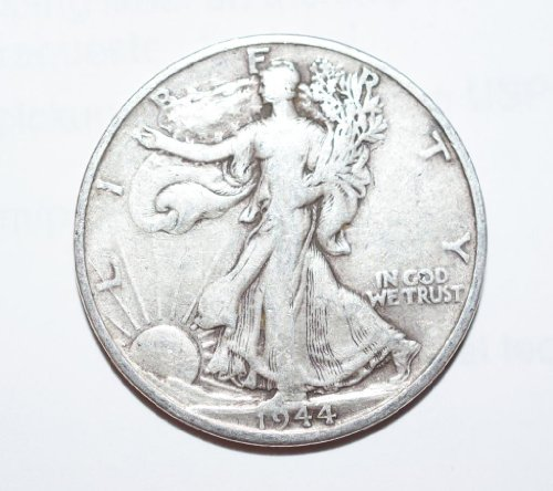 1944 No Mint Mark Walking Liberty Half Half Dollar wlh Seller ()