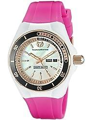 Technomarine Womens TM-115120 Cruise Sport Analog Display Swiss Quartz Pink Watch