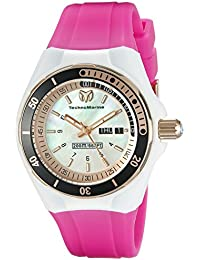 f2d9b4047ef1 Women s TM-115120 Cruise Sport Analog Display Swiss Quartz Pink Watch