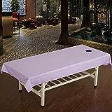 LWZY Linens Massage table sheet,waterproof sheets,spa linens,set of 2, salon sheets/massage sheets-M 120x240cm(47x94inch)