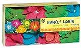 Grasslands Road Multi Color Hibiscus Flower Patio Light Set, 9-Foot For Sale