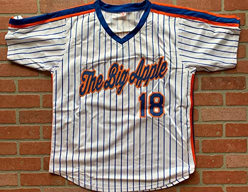 newest 00b44 ead57 Darryl Strawberry autographed signed jersey MLB New York Mets PSA COA