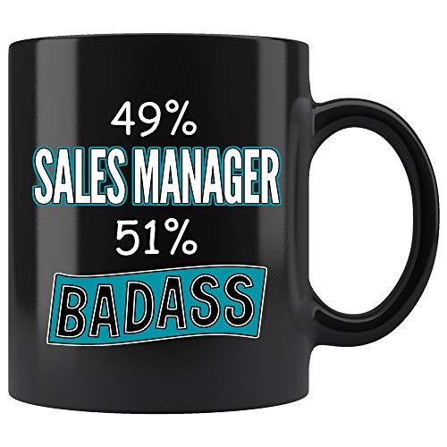 Sales Manager Coffee Mug. Sales Manager Funny Gifts for Women Men 11 oz black (Sale For Coffee Mugs Funny)