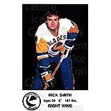 Rick Smith Hockey Card 1983-84 Saskatoon Blades #21 Rick Smith